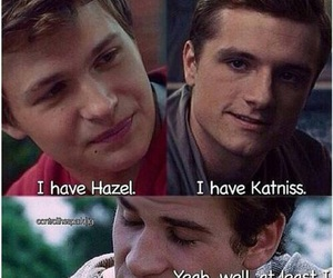 the hunger games, peeta mellark, and the fault in our stars image