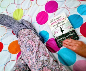 bed, green, and pijama image