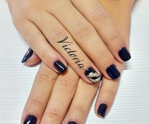 black nails, kiss, and victoria image