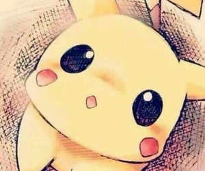 anime and cute pikachu pokémon image