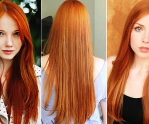 ginger, red hair, and red head image