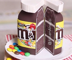 chocolate and m&m image