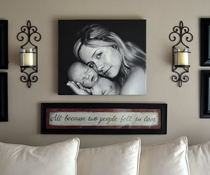 decoration, baby, and mommy image