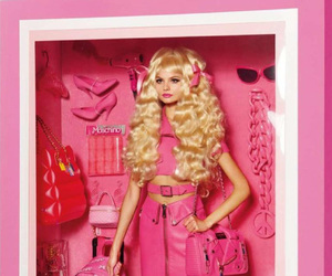 Moschino, barbie, and model image