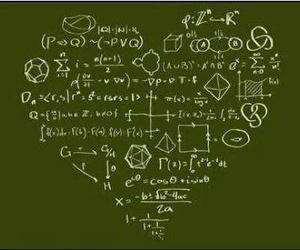 math, heart, and physics image
