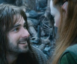 hobbit, kili, and tauriel image