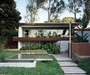 modern home, modern house, and mid century modern chairs image