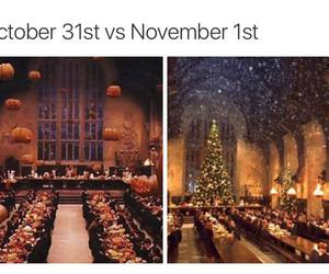 christmas, Halloween, and october image