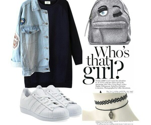outfits, Polyvore, and school image