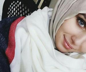 hijab, fashion, and حجاب image