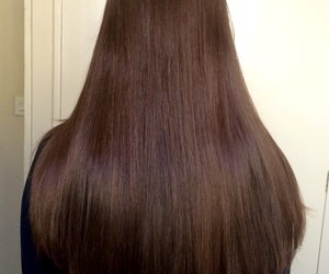 brown, brunete, and hair image