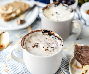chocolate, cosy, and drink image