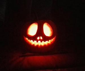 Halloween, nightmare before christmas, and pumpkin image