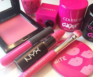 beauty, pink, and glam image