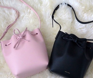 fancy, girly, and pink purse image