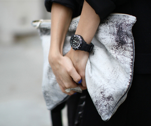 fashion, clutch, and style image