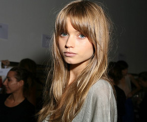 model, hair, and abbey lee image