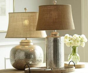 small lamp, small table lamps, and small nightstand image