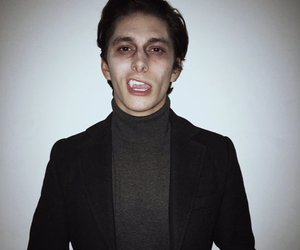 vampire, midnight red, and vampiro image