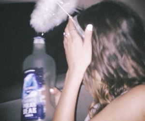 alcohol, angel, and drunk image