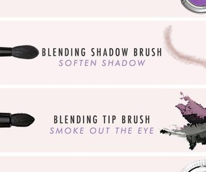 makeup, Brushes, and eyeshadow image