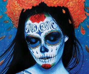 skull and art image