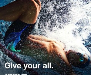power, speedo, and swimming image