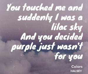 colors, lilac, and sky image
