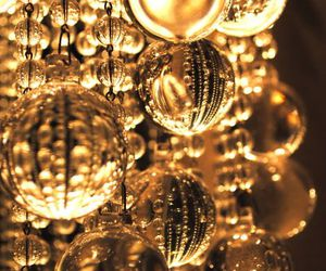gold, christmas, and golden image