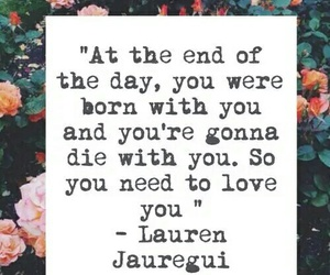 quote, lauren jauregui, and fifth harmony image