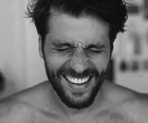 boy, smile, and beard image