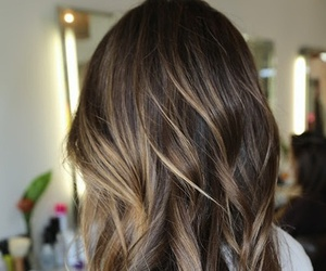 hair, hairstyle, and highlights image