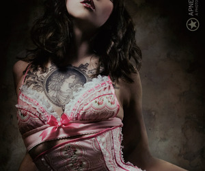 apnea, tattoo, and corset image