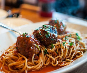 meatballs, food, and food porn image