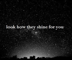 stars, shine, and sky image