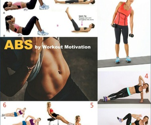 fit, motivation, and workout plan image