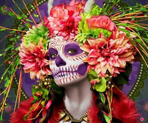 art, day of the dead, and photography image