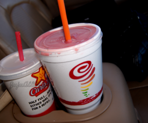 car, smoothie, and personal image