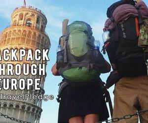 backpacking, europe, and bucket list image