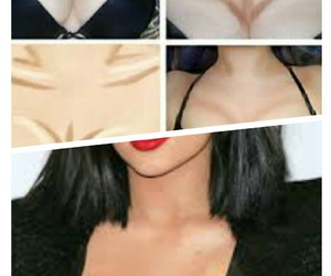 contouring, kylie+jenner+, and contourning image