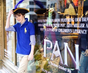 ralph lauren and levi miller image