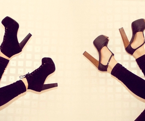 heels, jeffrey campbell, and legs image