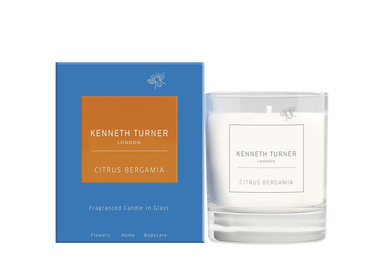 scented candle and kenneth turner image