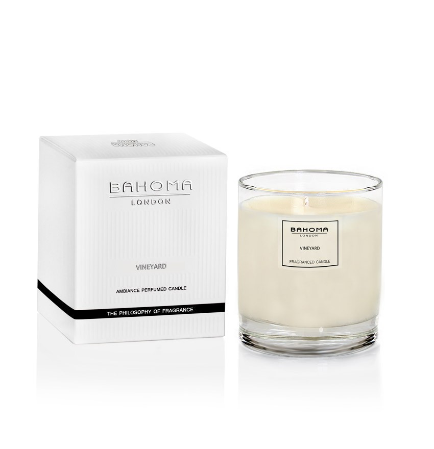 vineyard, luxury candle, and bahoma image