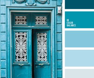 blue and color palettes image