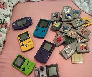 90s, gameboy, and pink image