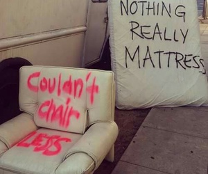 funny, chair, and quotes image
