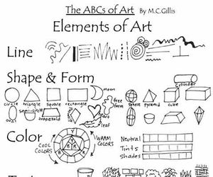 ABC, art, and color image