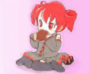 bread, eating, and kawaii image