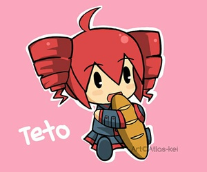 chibi, kawaii, and teto image